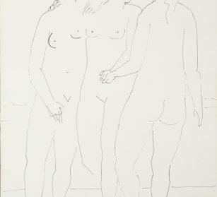 Picasso_Trois grâces debout